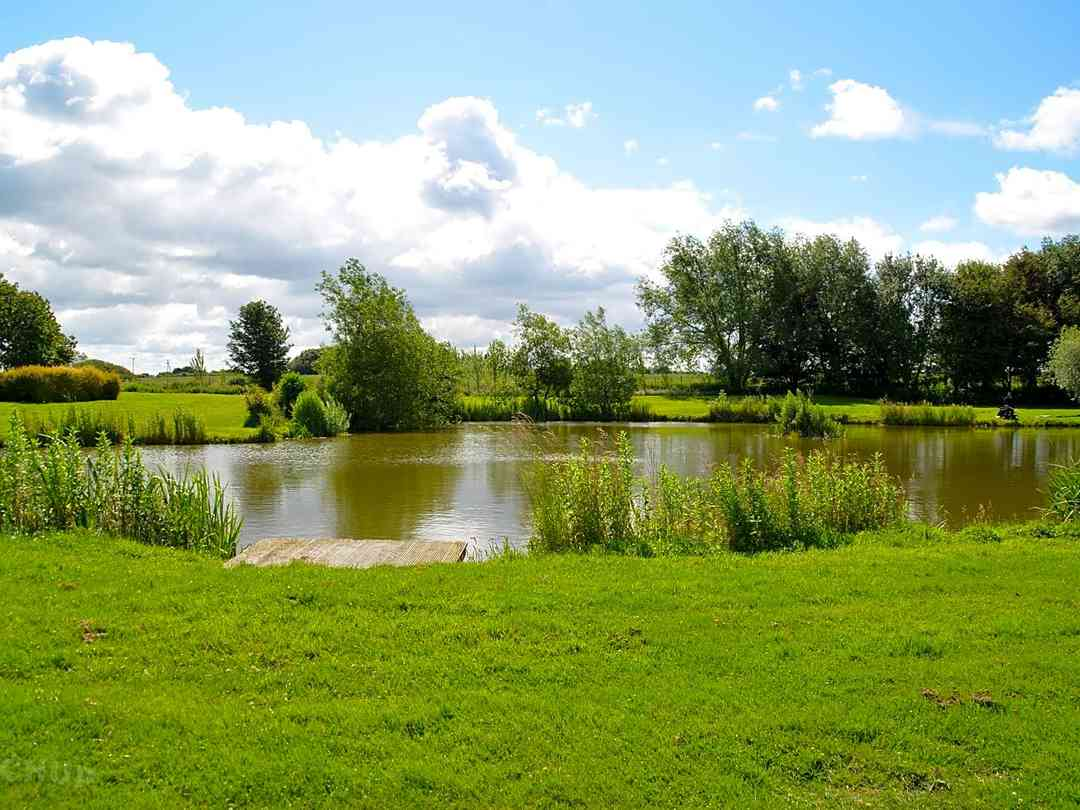 Alvingham Lakes: Grass Lake