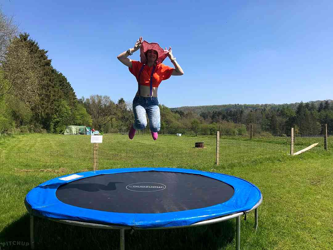 Oaklands Leisure and Fishery: Trampoline