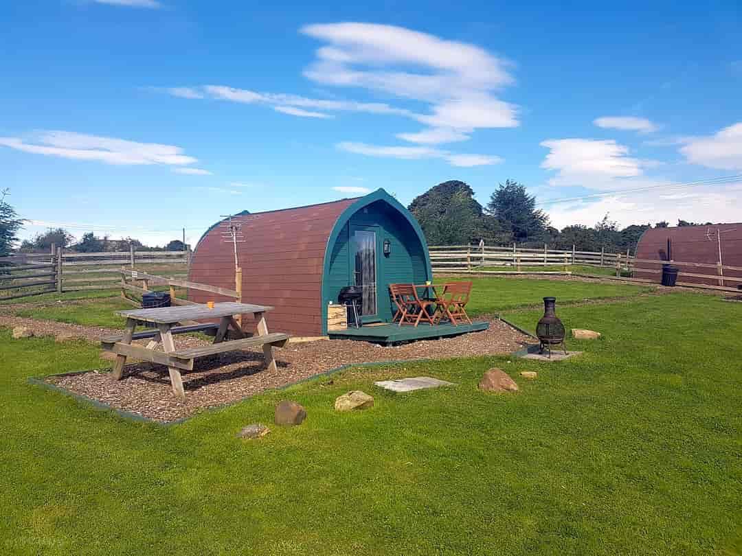 Small quiet caravan campsite Peak District Belper Ashbourne