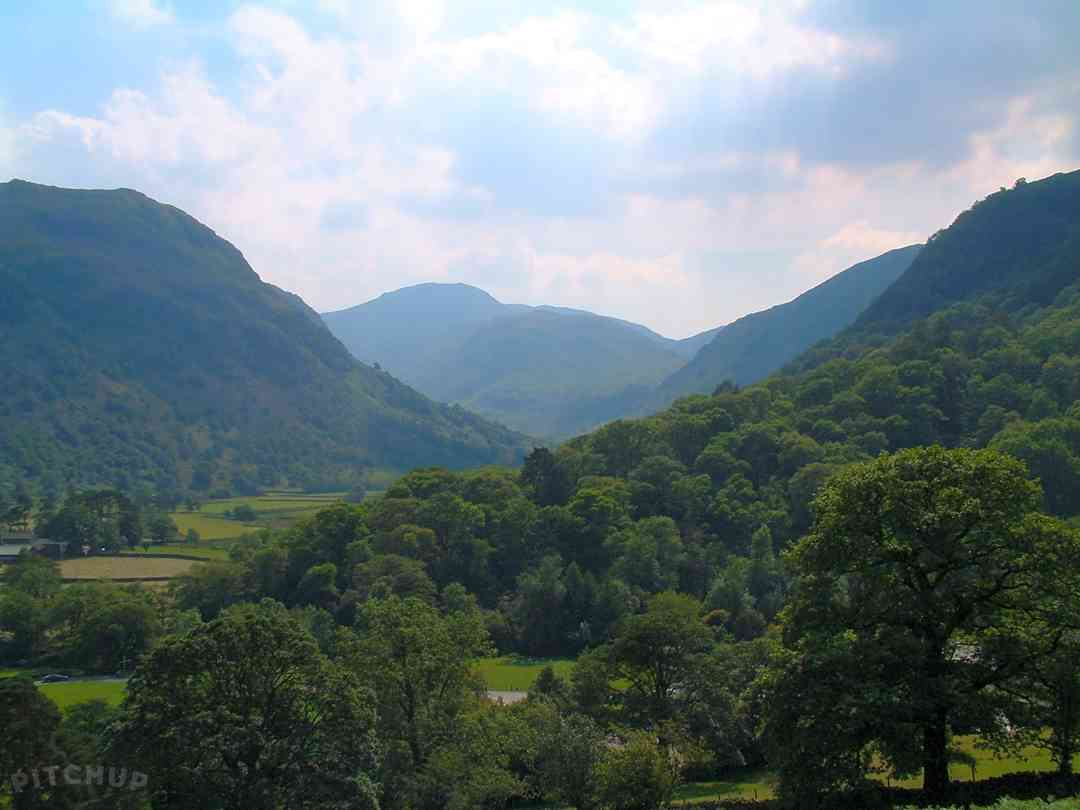 Borrowdale Valley views from the site