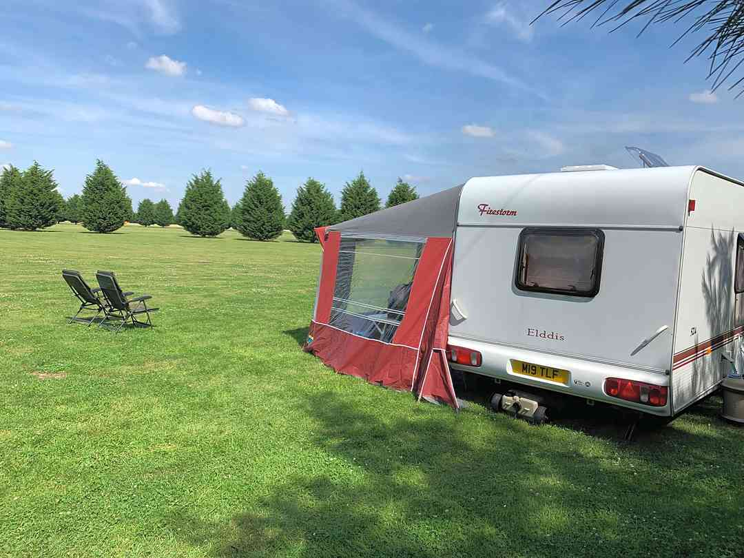 Misterton Holiday Park: View from our caravan