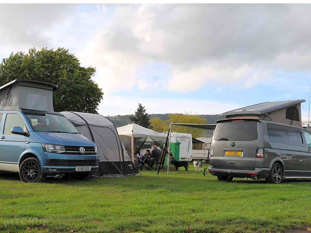 Three Counties Showground Campsite: Campervans welcome