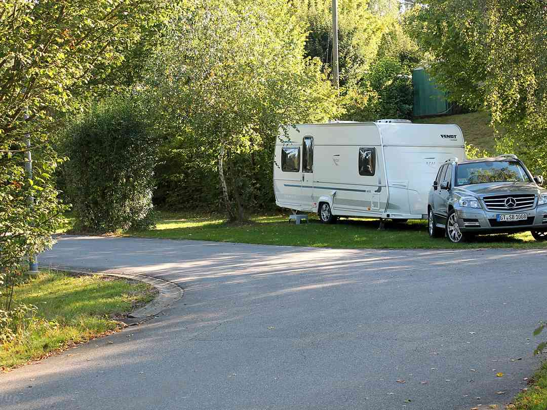 A quiet place for your caravan