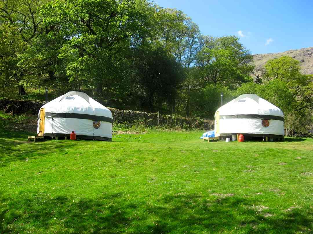 Inside Out Camping Yurts at Seatoller