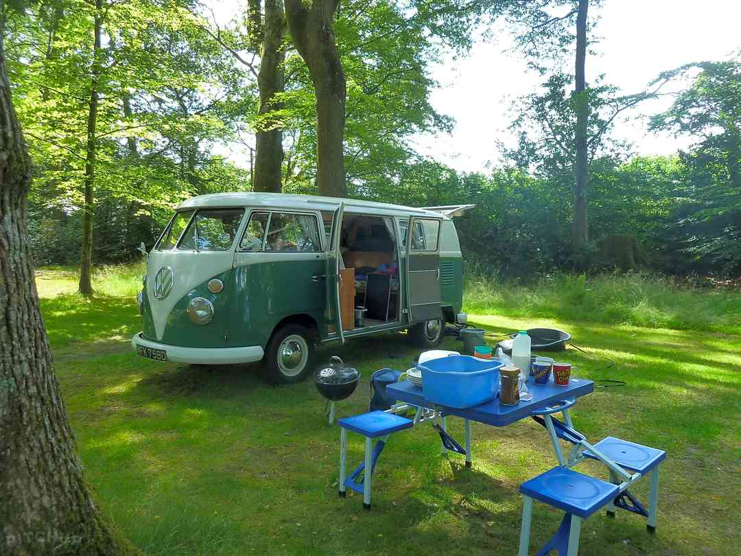 A campervan holiday