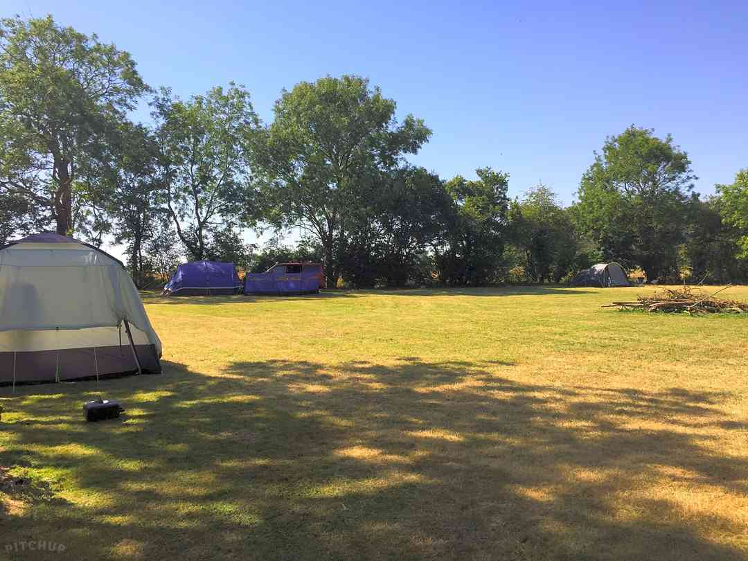 Sunnyside Campsite: A one-acre grass meadow