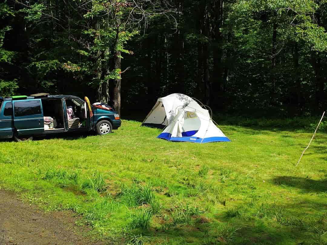 tent camping near page az