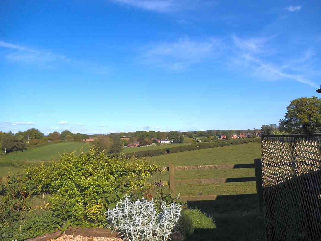 Snape Bank Farm: View from the farm