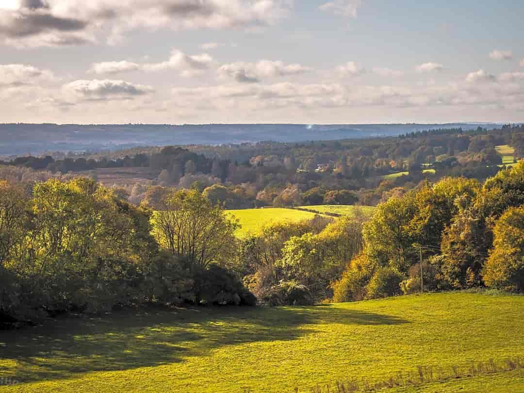 Hampton Estate: Views over the Surrey Hills