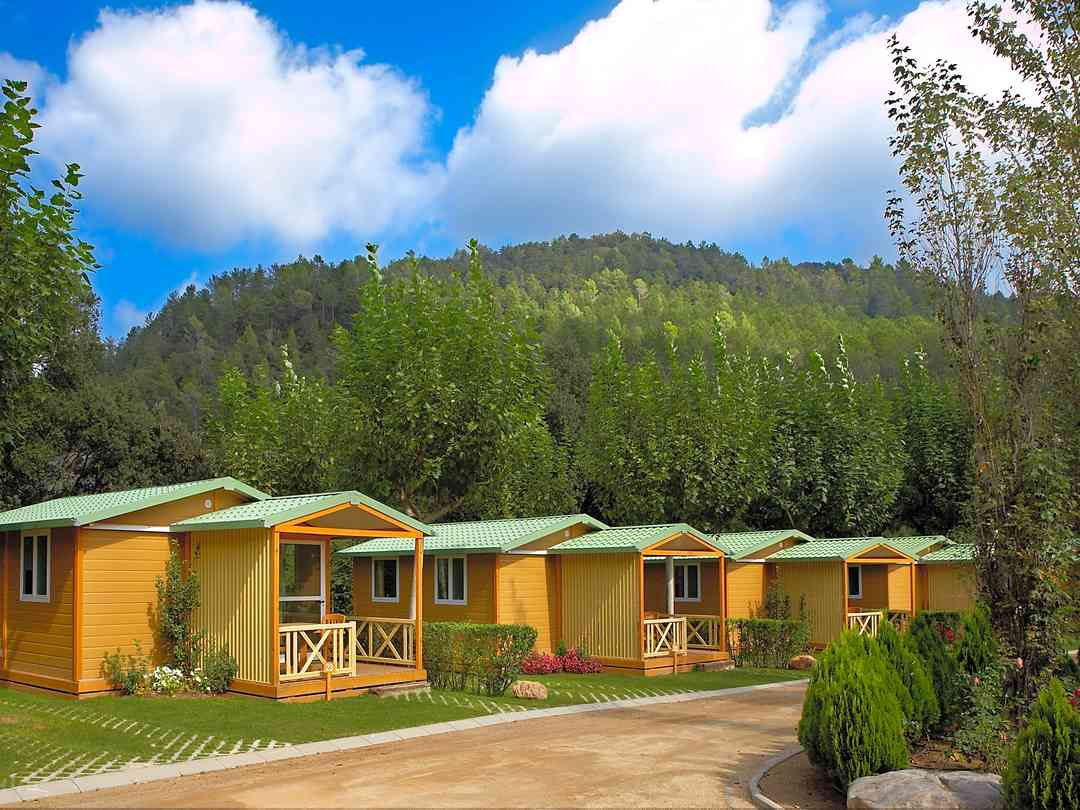 Our cabins with wonderful views