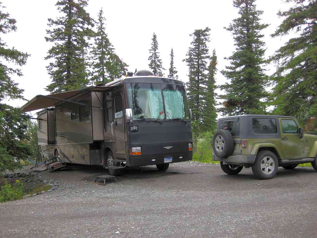 Northern Nights Campground and RV Park: Big rigs are always welcome