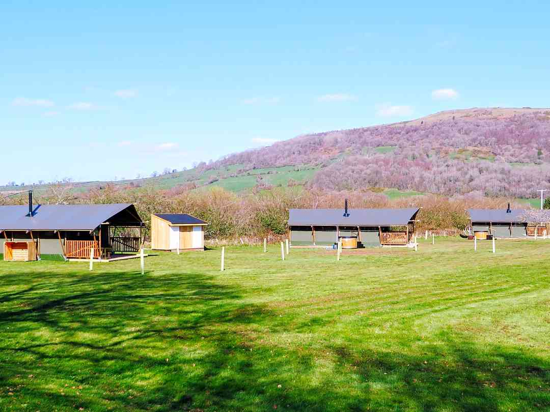 Gilestone Glamping: Luxury safari tents in the stunning Brecon Beacons