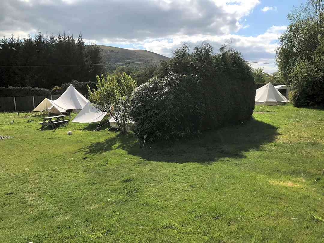 The Old School Campsite: The glamping