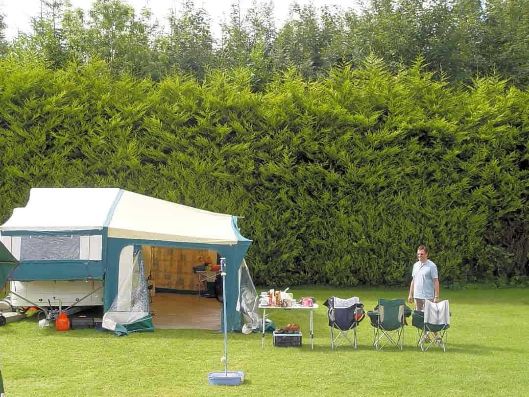 camping caravans camping site glamping mobile home