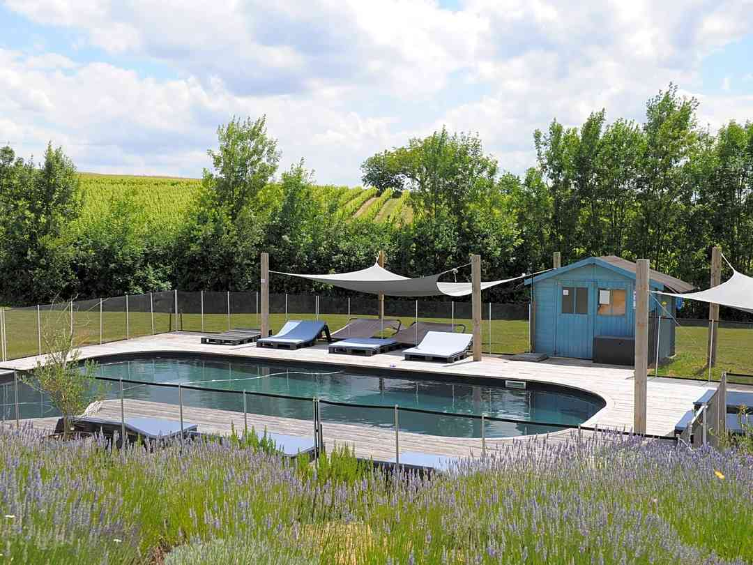 Open-air swimming pool