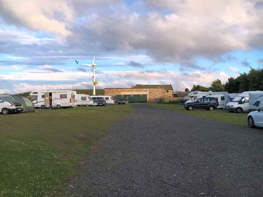 Whitegate Leisure Caravan and Camp Site: A little cloudy