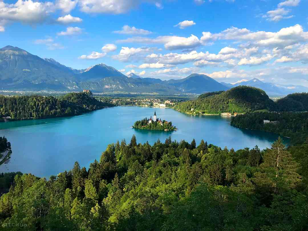 Camping Bled: Lake Bled