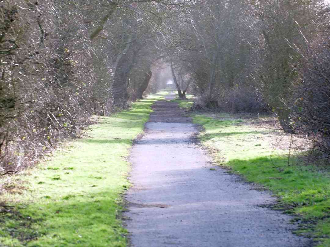 The Trans Pennine Trail is accessible from the park