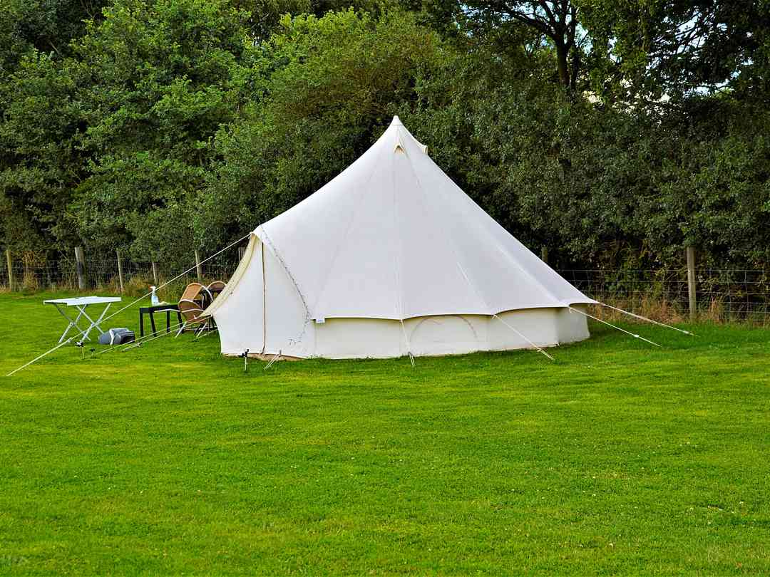Highfield Escape: Bell tent
