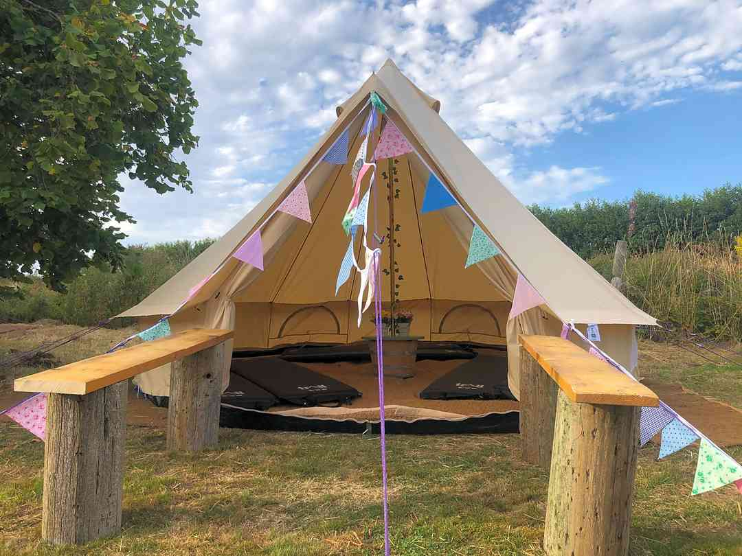 Woolton Farm: Bell tent