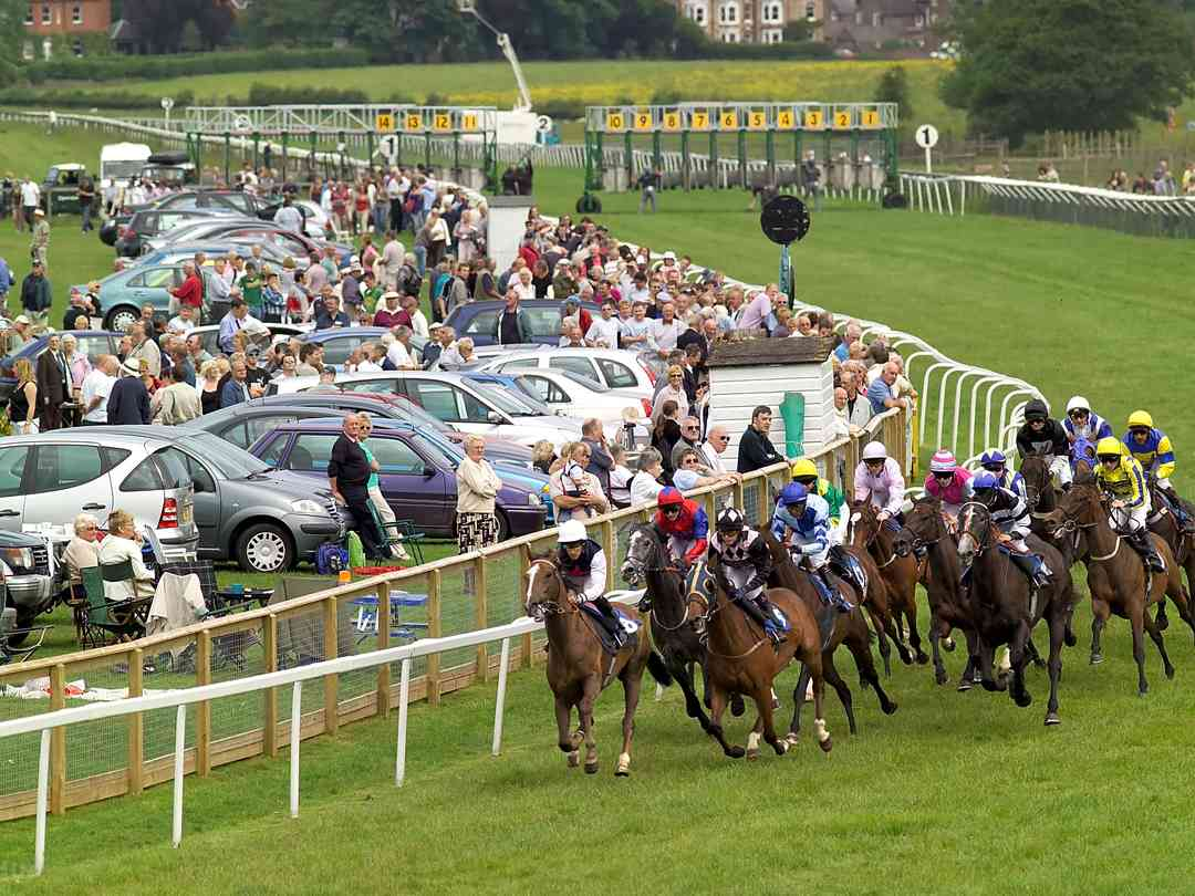 Beverley Racecourse is 2 miles from Butt Farm, ideal for a family day out during the summer