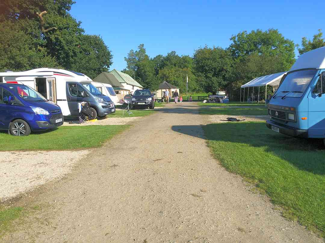 Roadford Lake Campsite