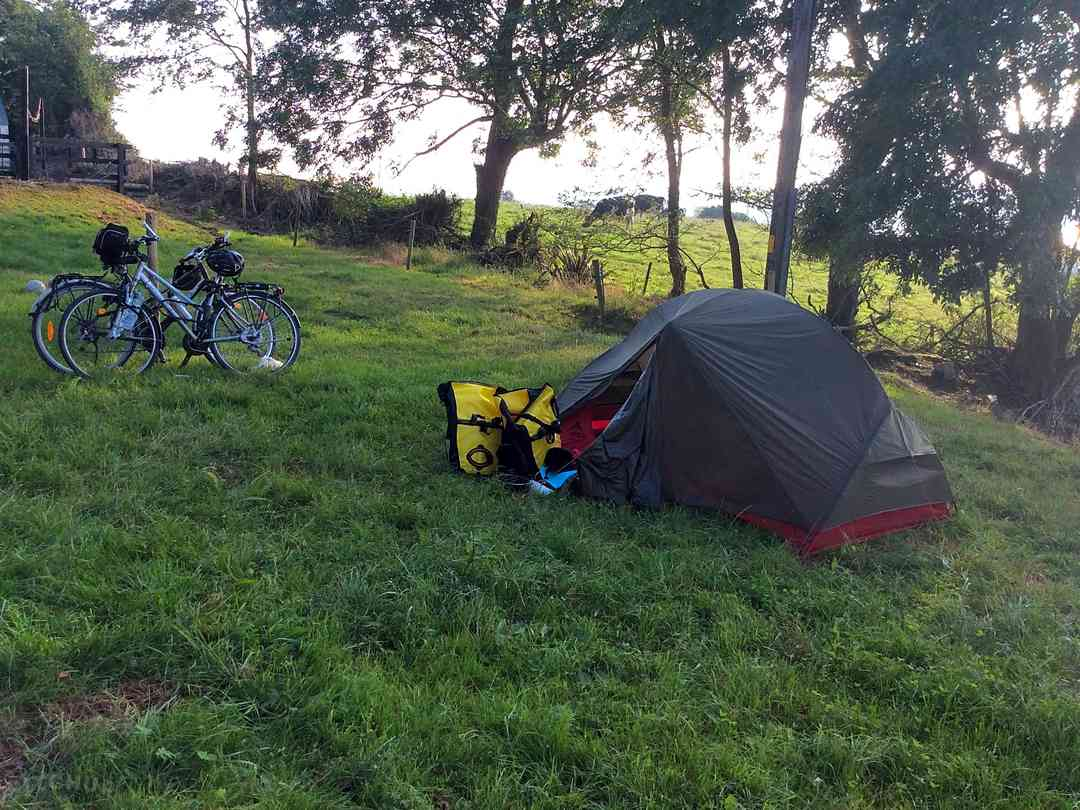 trailer tent camping sites in ireland