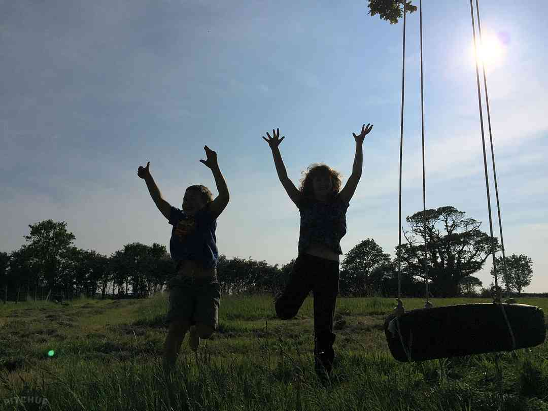 Pilsdon View Camping: Fun in the sun