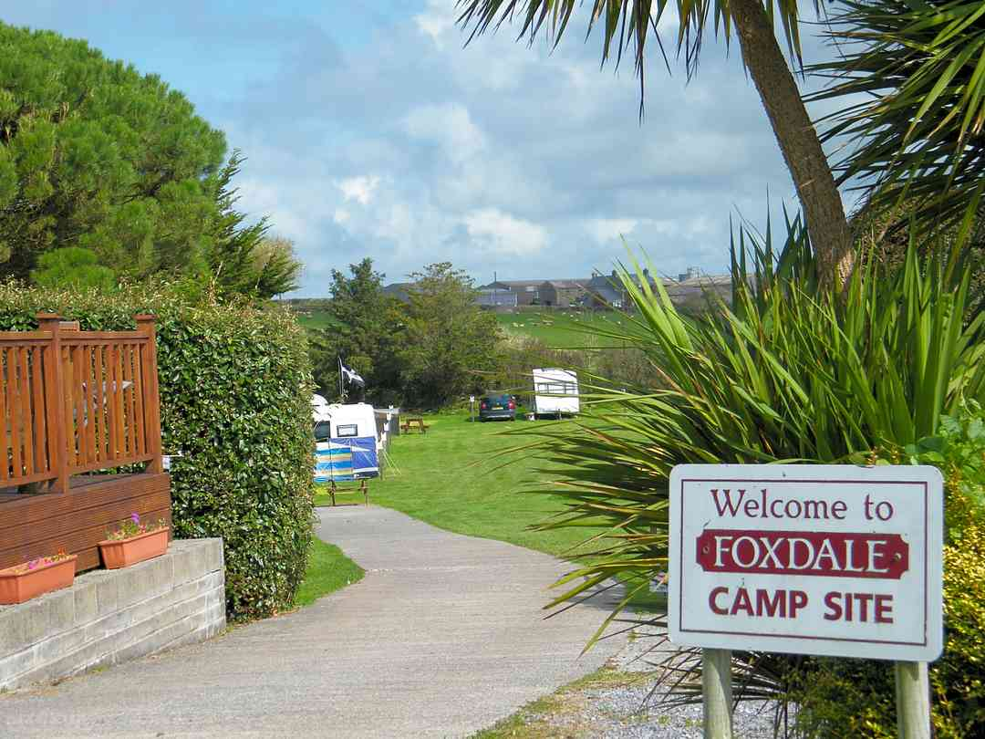 Foxdale Campsite: Welcome.
