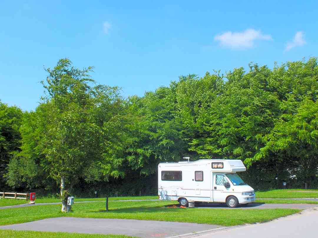 Hardstanding pitches for caravan or motorhome