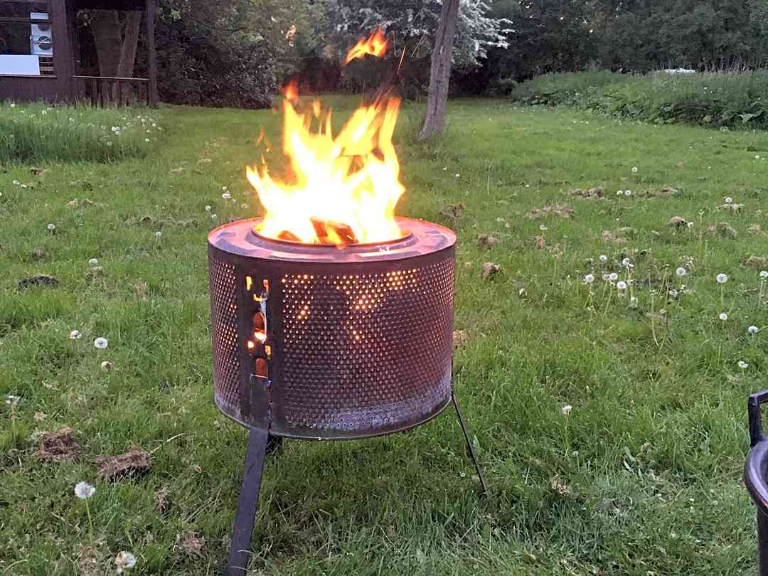 The Old Vicarage: Fire pit for hire
