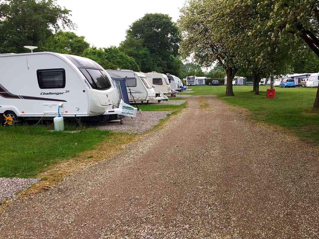 Bowdens Crest Caravan and Camping Park: Touring pitches