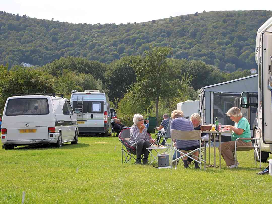 Three Counties Showground Campsite: Well-kept grounds