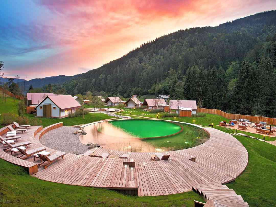 Herbal Glamping Resort: View of the resort