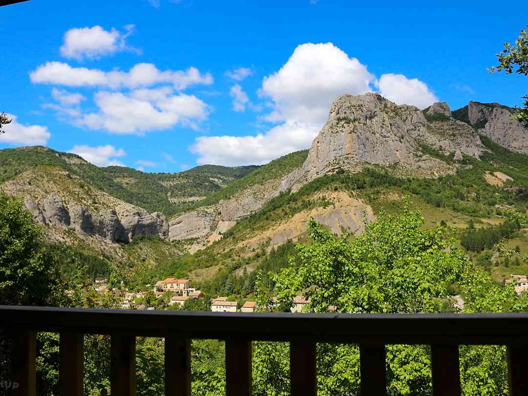 Camping Les Princes D'Orange: The view from your holiday home