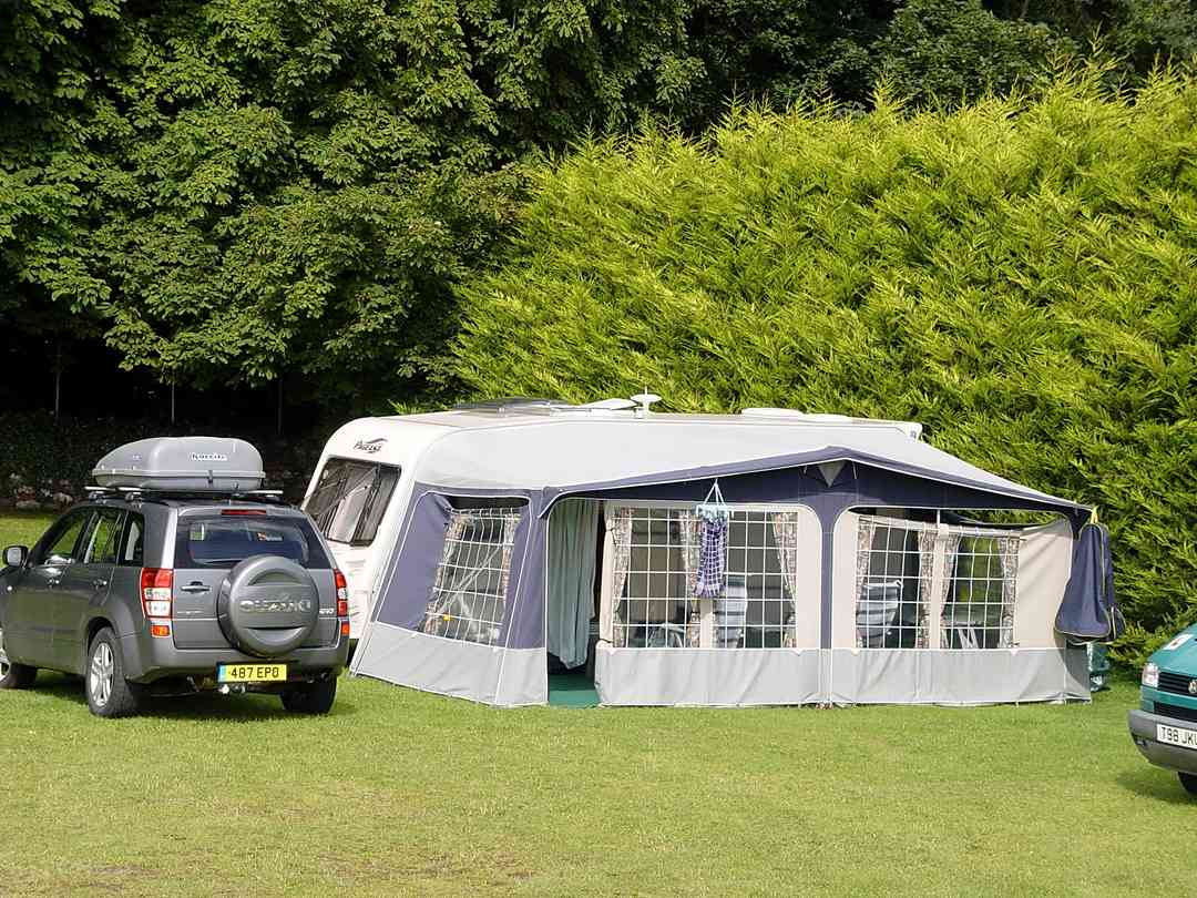 Cong Camping Caravan and Glamping Park: Settling in