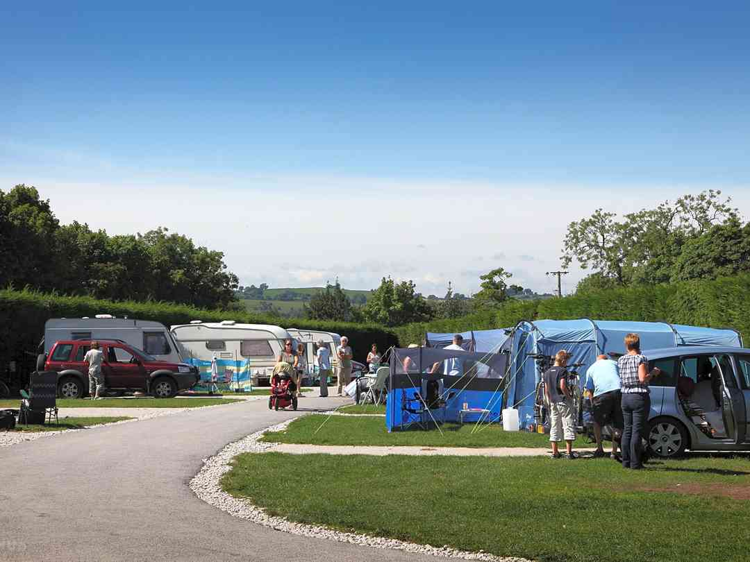 Camping & Touring Pitches
