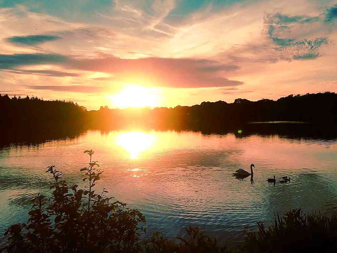 Sunset at Colemere