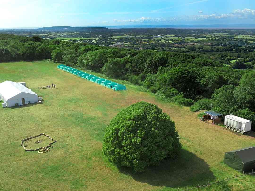 Basecamp at Mendip Activity Centre