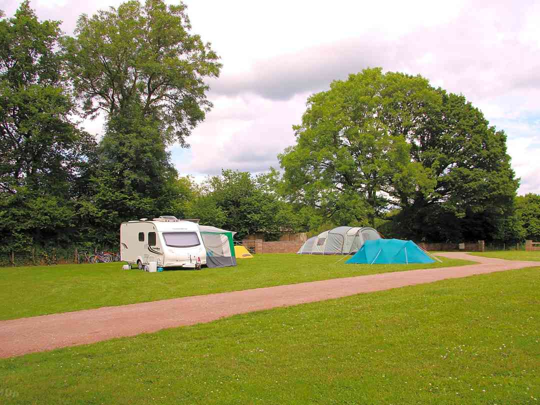 Greenacres Campsite: Surrounded by mature trees