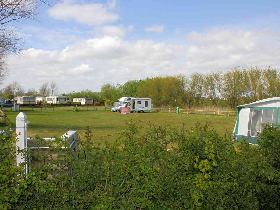 New Romney Caravan Park: Touring area