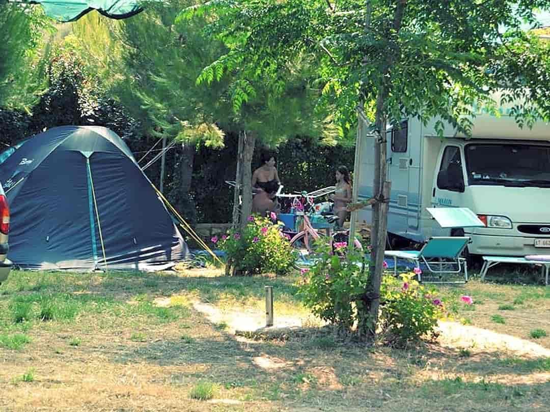 campeggio tenda ferrara