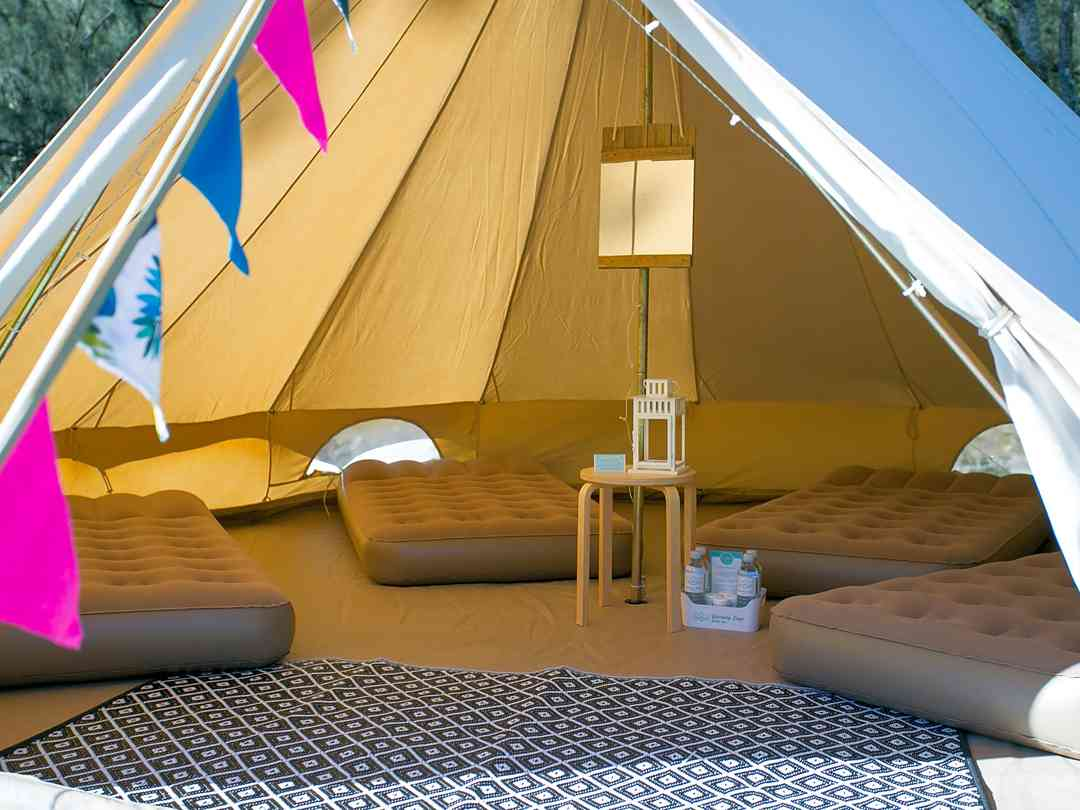 Book yurt, tipi, bell tent and dome sites in Penzance