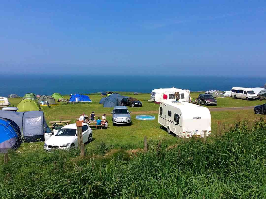 Celtic Camping: Pitches with a view
