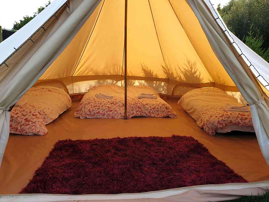Wood View Farm  Glamping: Beds available to hire