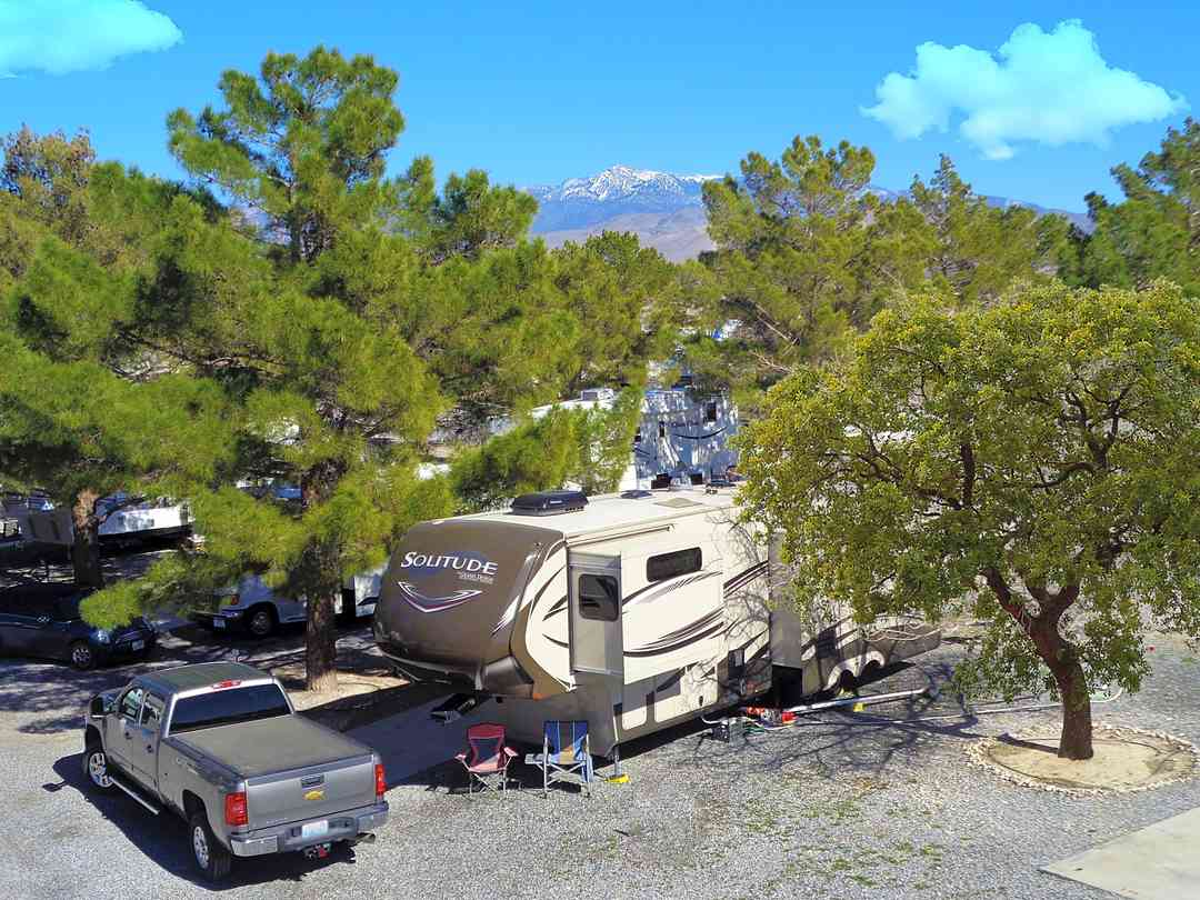 Mountain-view RV sites