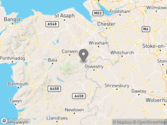 Location of ceiriog-valley-park