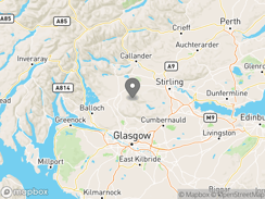 Location of Campsie Glen Holiday Park