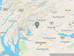 Location of Trossachs Holiday Park