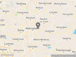 Location of gunthorpe_camping